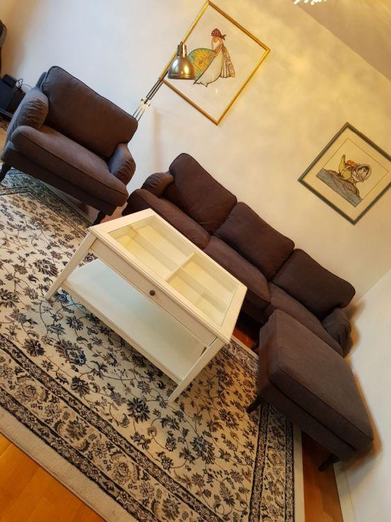 Stocksund soffa IKEA + Liatorp