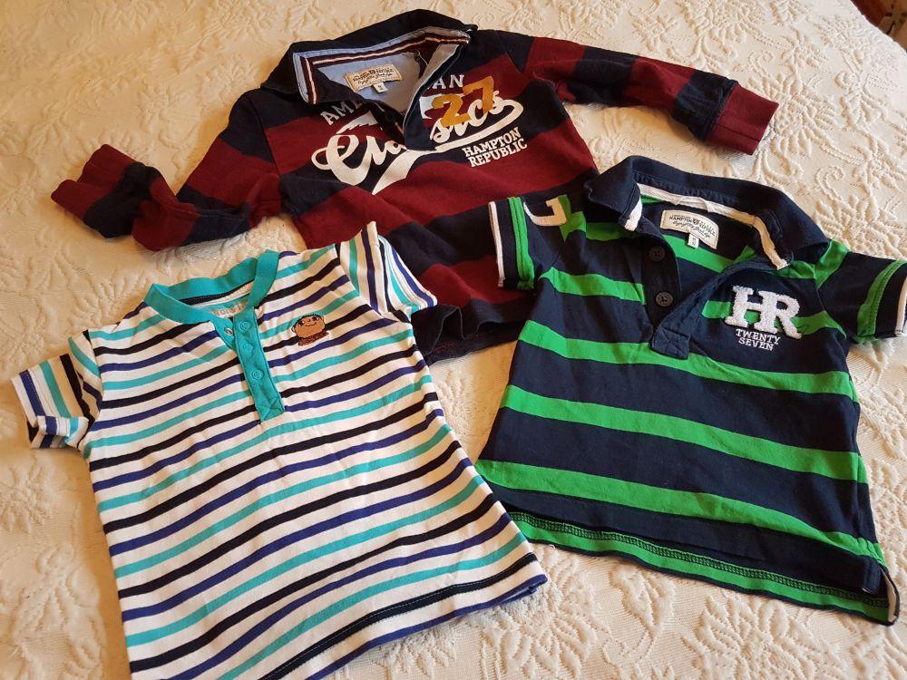 Hampton Republic Pike och Alfons T-shirt storlek 86/92