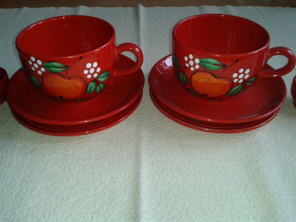 Frukostset i keramik 3 delar.