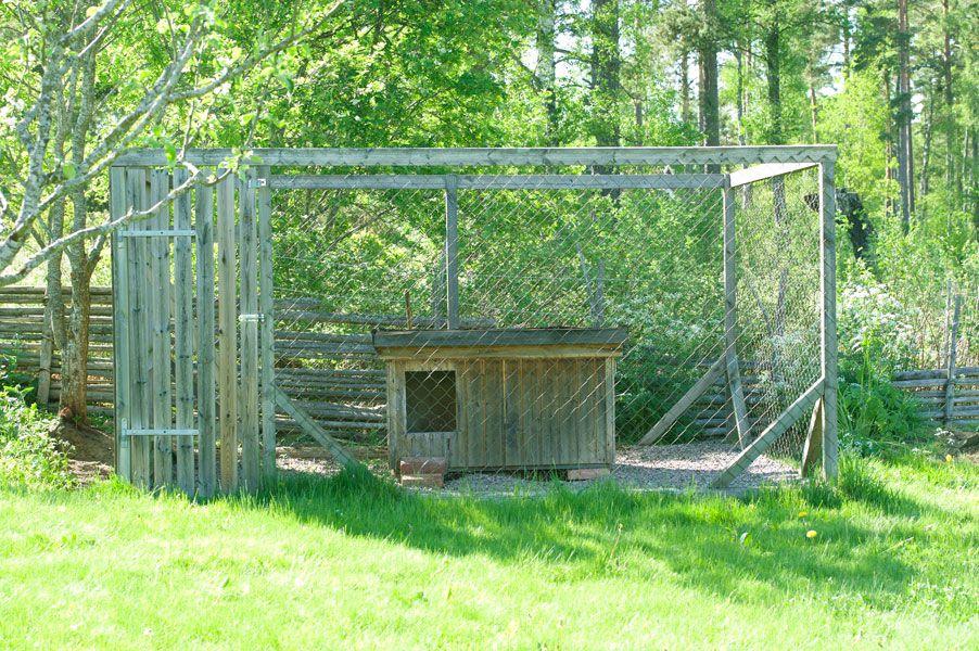 Hundhus/hundkoja/hundgård/hundsektioner