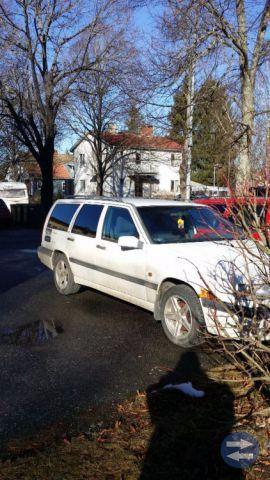 Volvo L +850 reservdelsbil