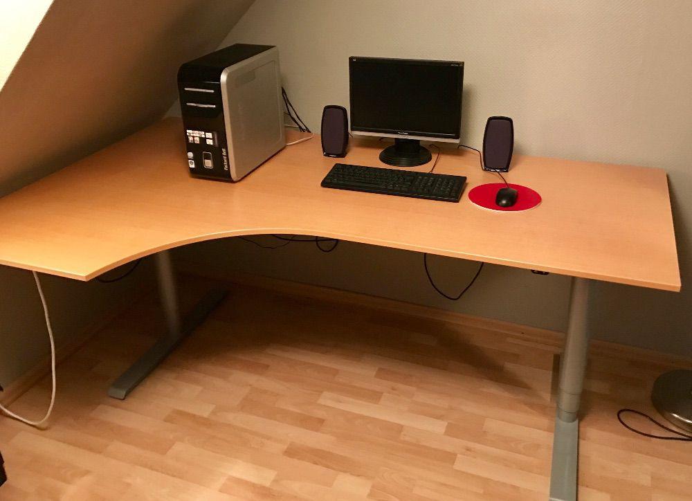 Höjbart skrivbord