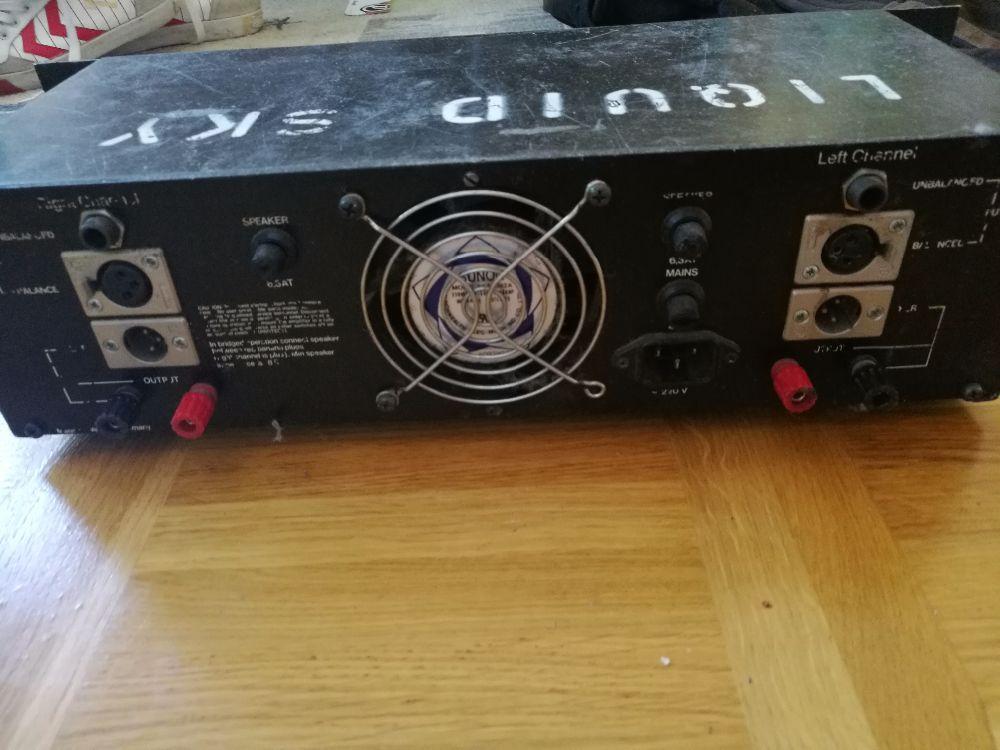 Slutsteg MCGee Amplifier