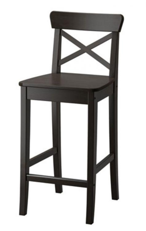 Barbord med 2 stolar