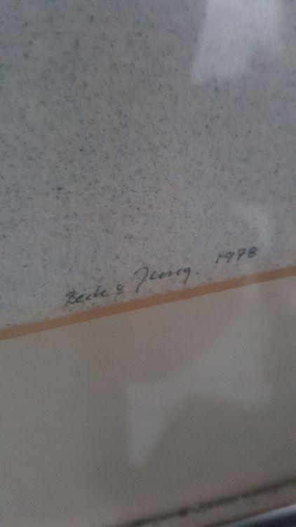 Beck &Jung tavla. Signerad. 49/150