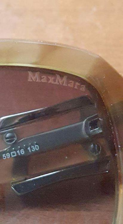 Max Mara solglasögon.