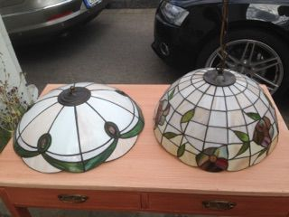Lampor- 2 x Tiffany, Mio taklampa mm