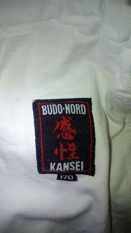 Budo Nord Kansei Superfit judo/ jujutsudräkt st 170