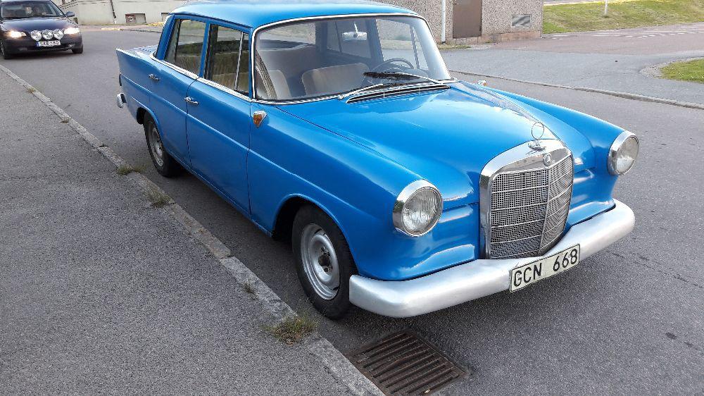 Mercedes fena 1963
