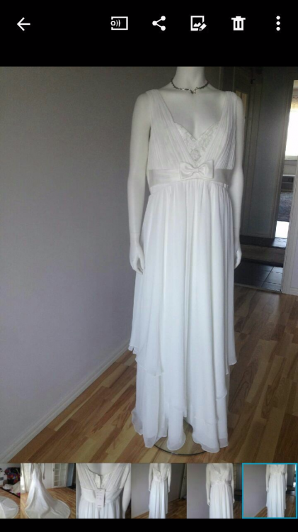Ny brudklänning