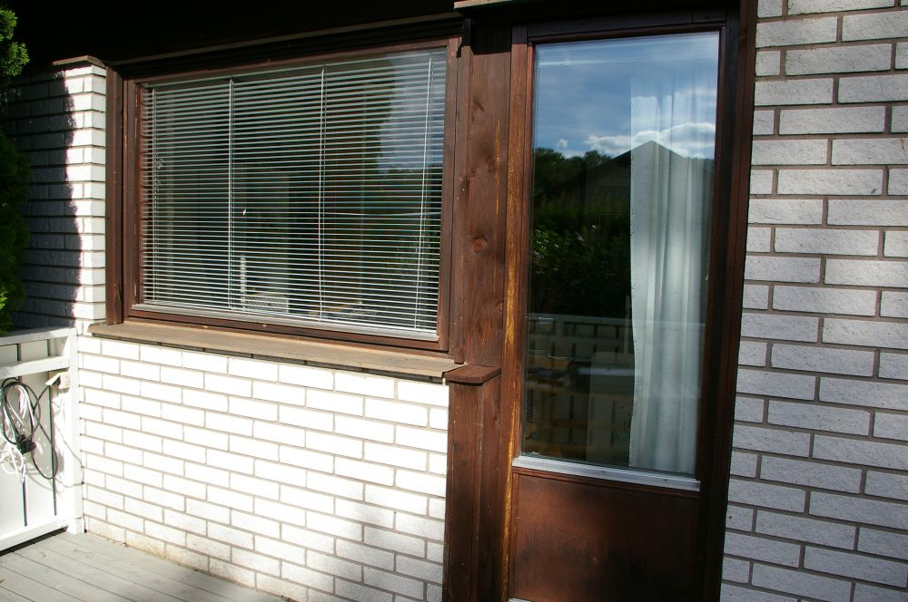 Fönster altandörr