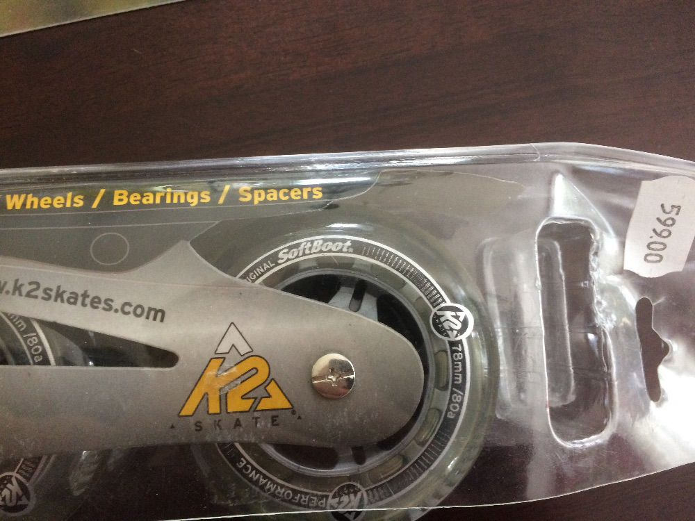 K2 inline skates hjul