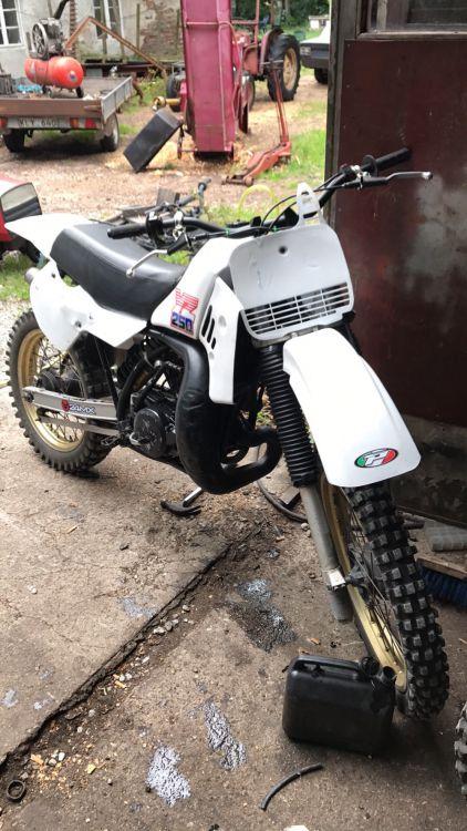 Yamaha yz 250 1986