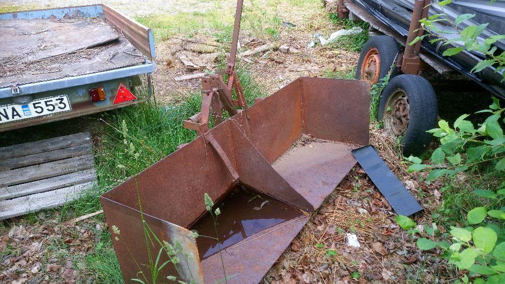 Bak skopa till traktor