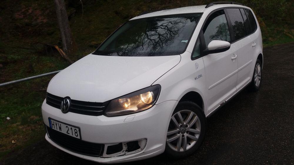 VW TOURAN 2012 års.