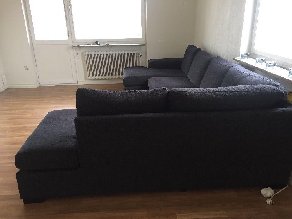 Soffa med divan