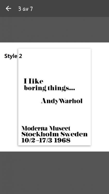 Andy Warhol posters