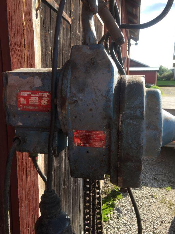 Kedjetelfer elektrisk 500 kg