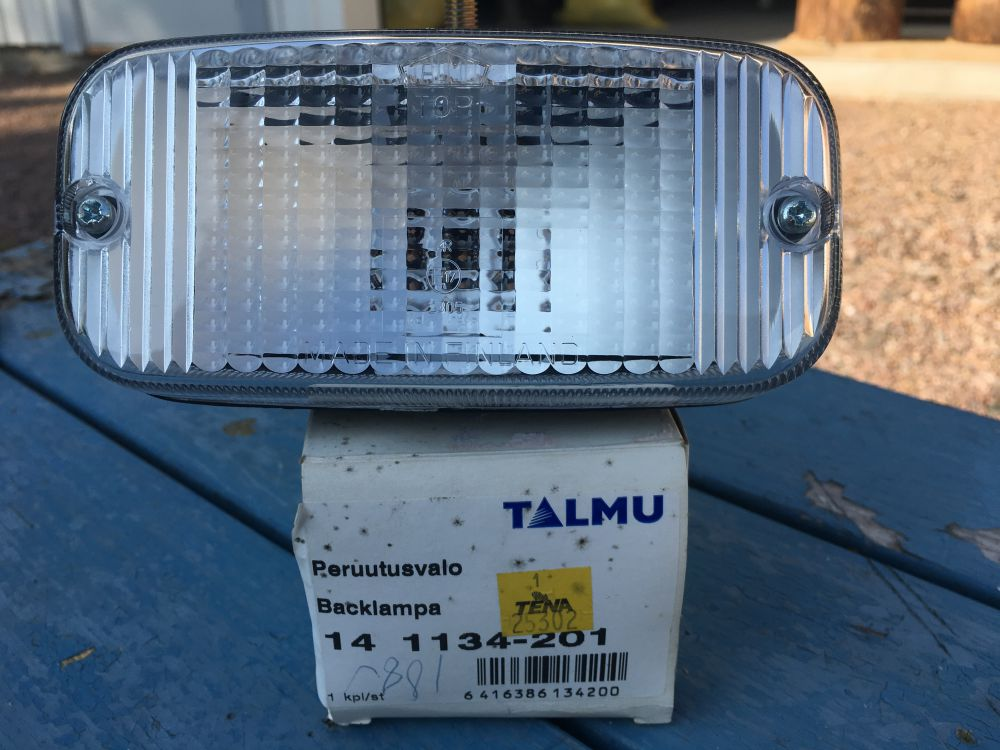Strålkastare lampor mm