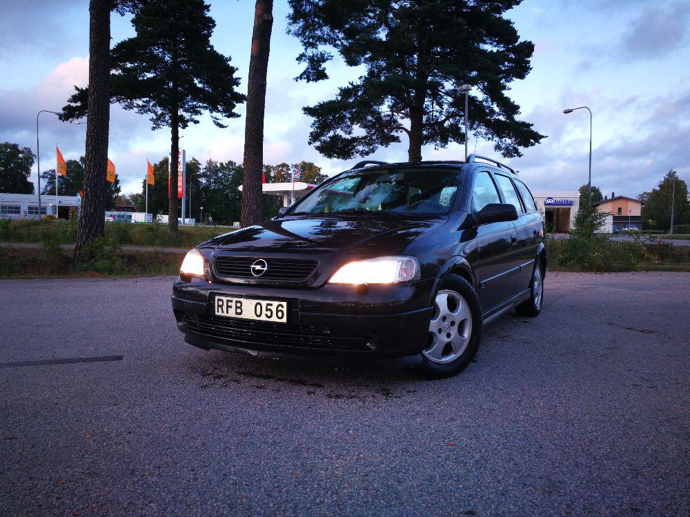 Opel Astra 2000 besiktad och godkänt idag