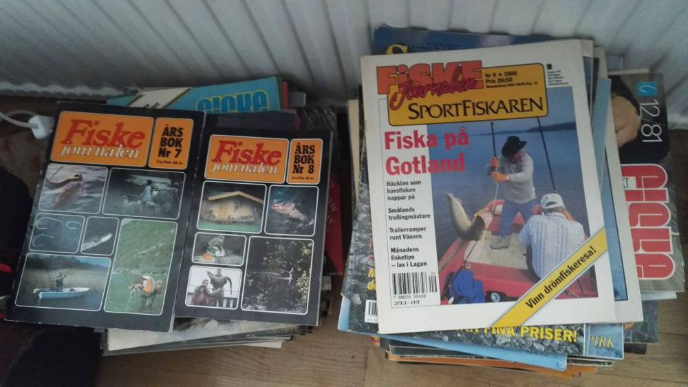 Fiske tidningar 1979 - 2000