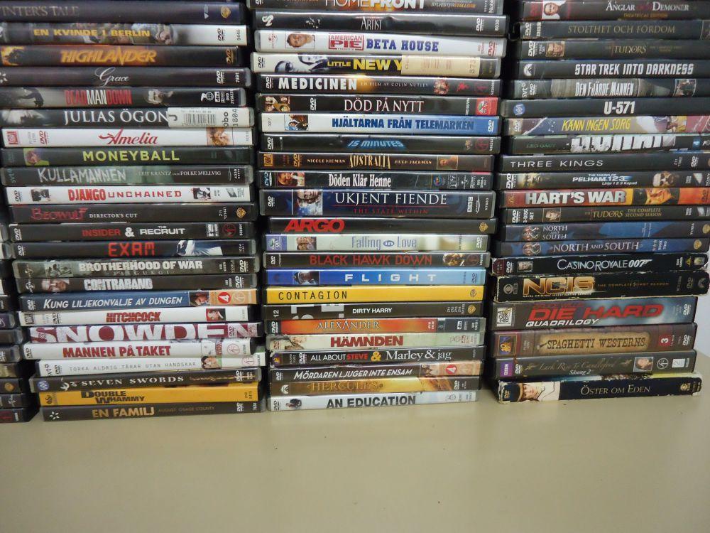 DVD Filmer ca 200 st.