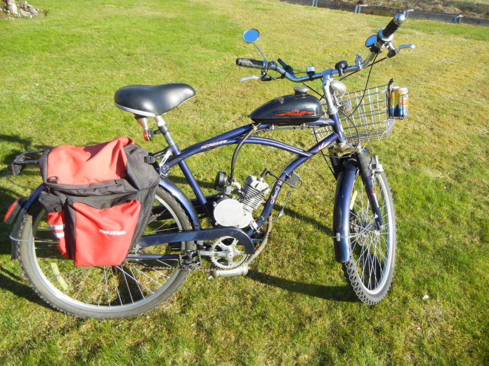 Cykel-Incalcu med hjälpmotor