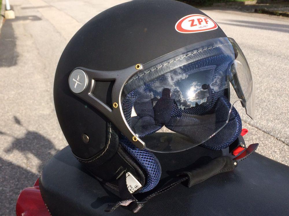 MC moped hjälm