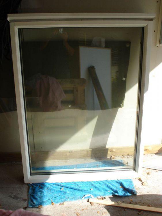 Fönster fastkarm från hemmafönster