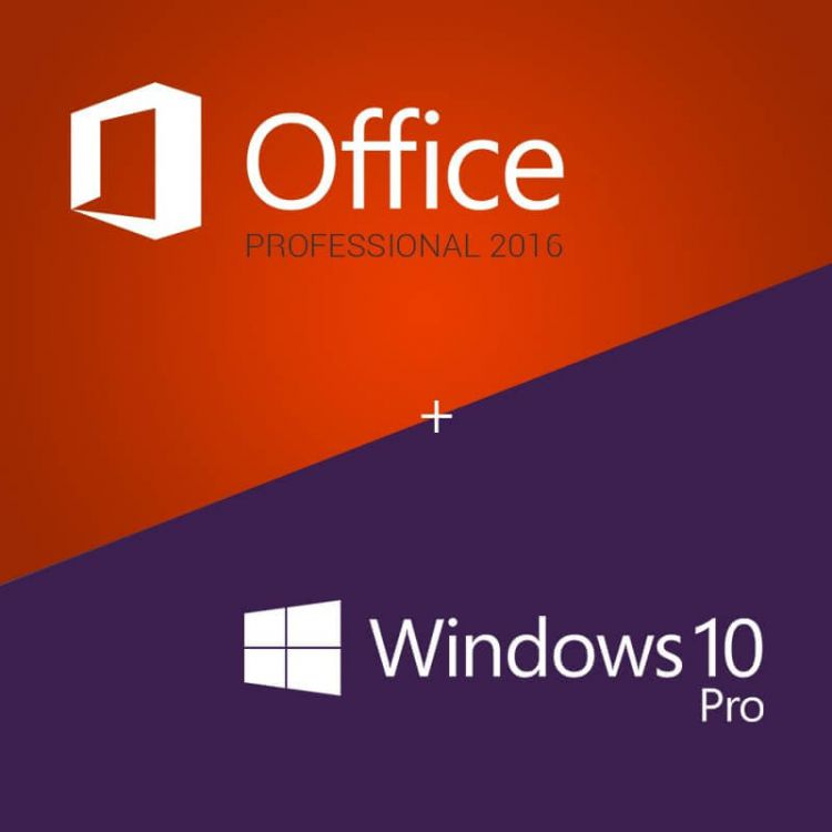 Windows 10 pro / microsoft office pro / kaspersky anti-virus