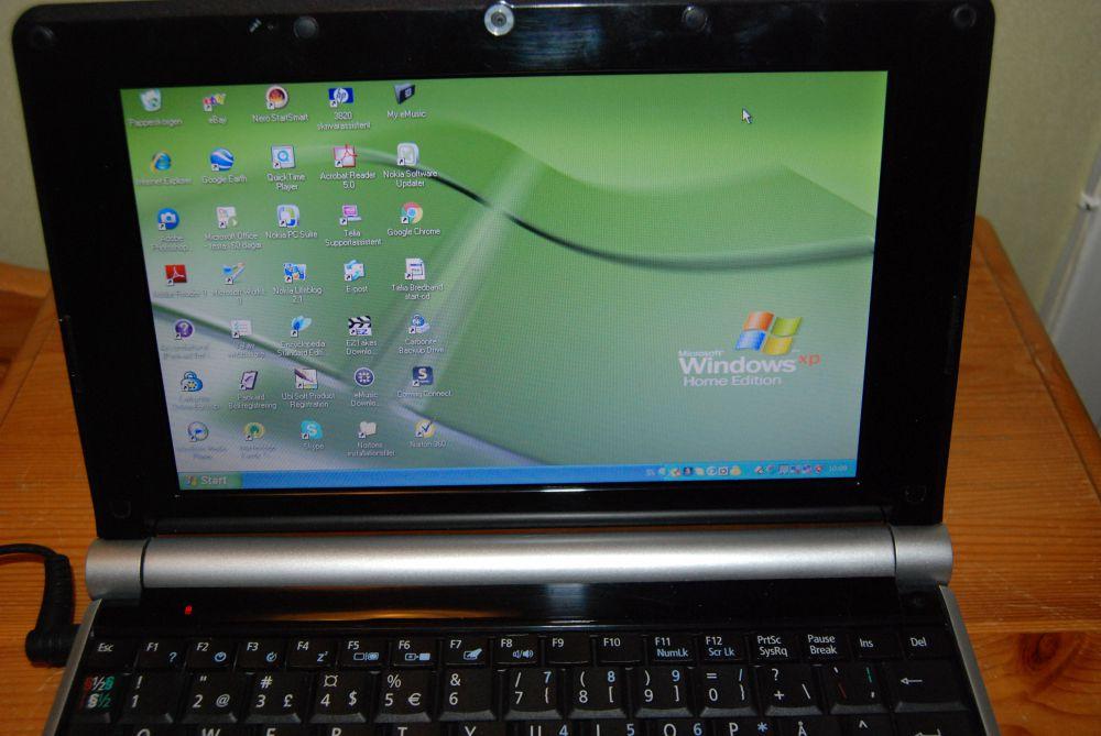 Liten laptop
