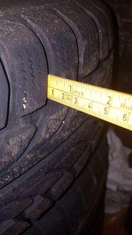 Allround däck 15 tum
