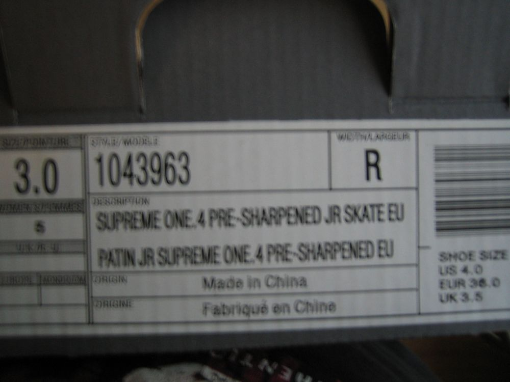 Skridskor Bauer Supreme ONE.4