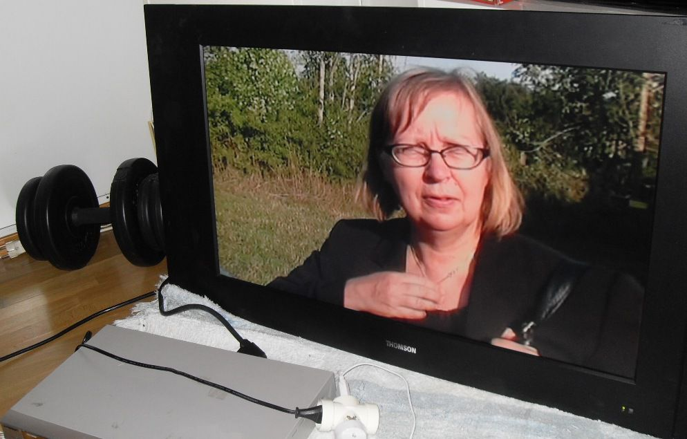 Thomsson 32 tum TV skärm för DVD, Dator osv