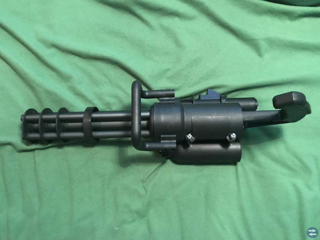 Airsoft Classic Army M132 MicroGun /Minigun