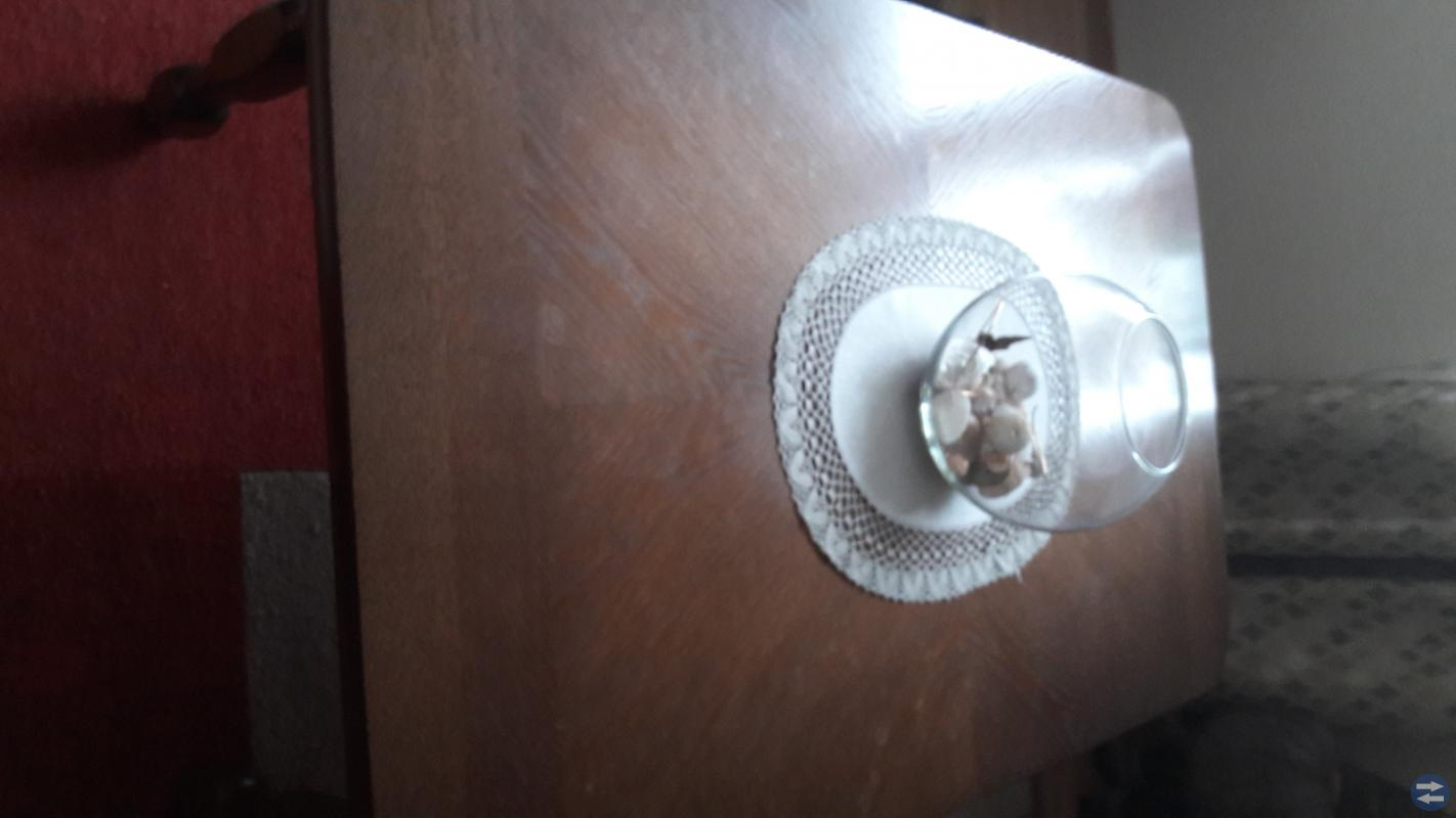 Soffgrupp skinn med bord