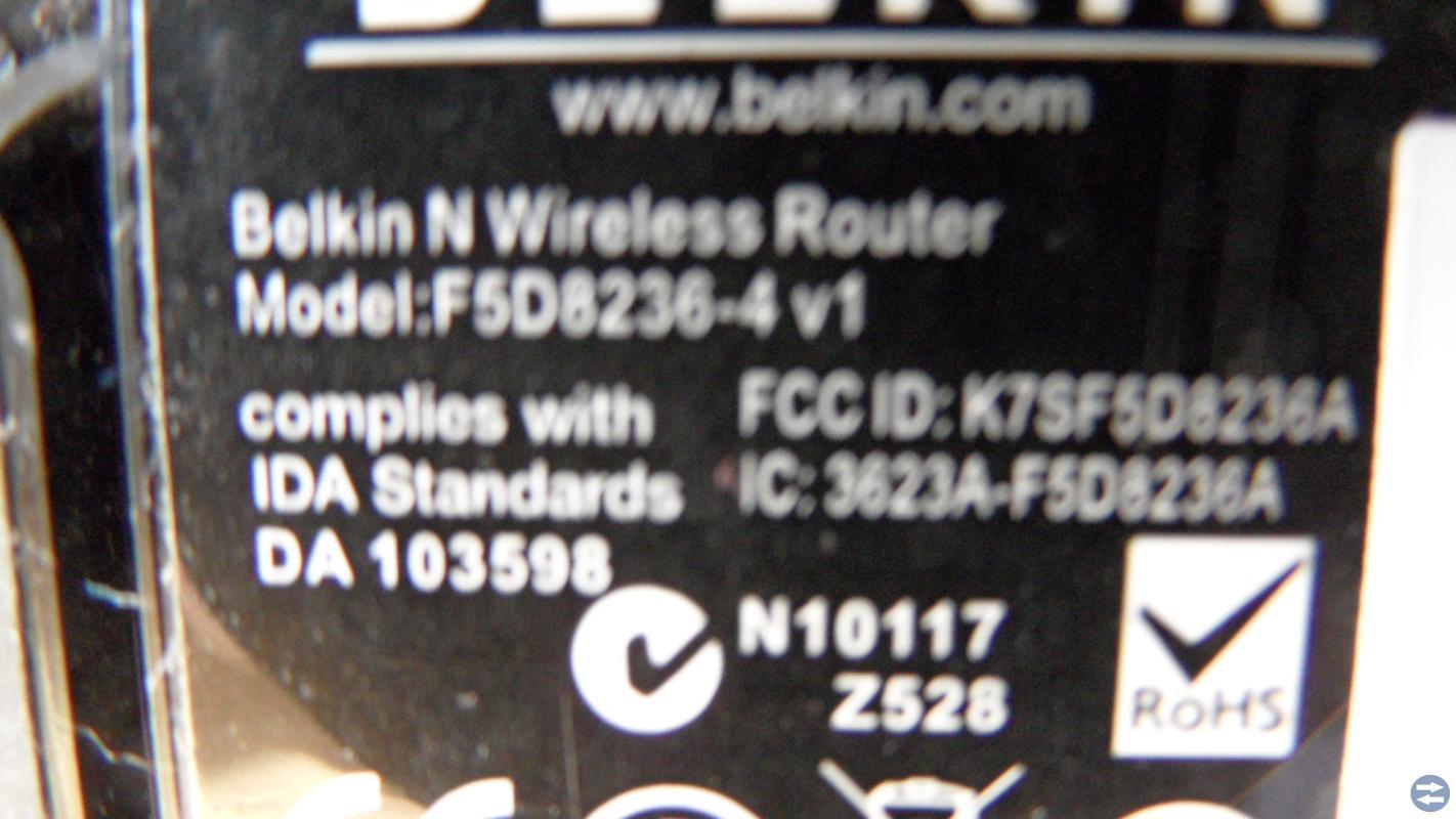 Trådlös router