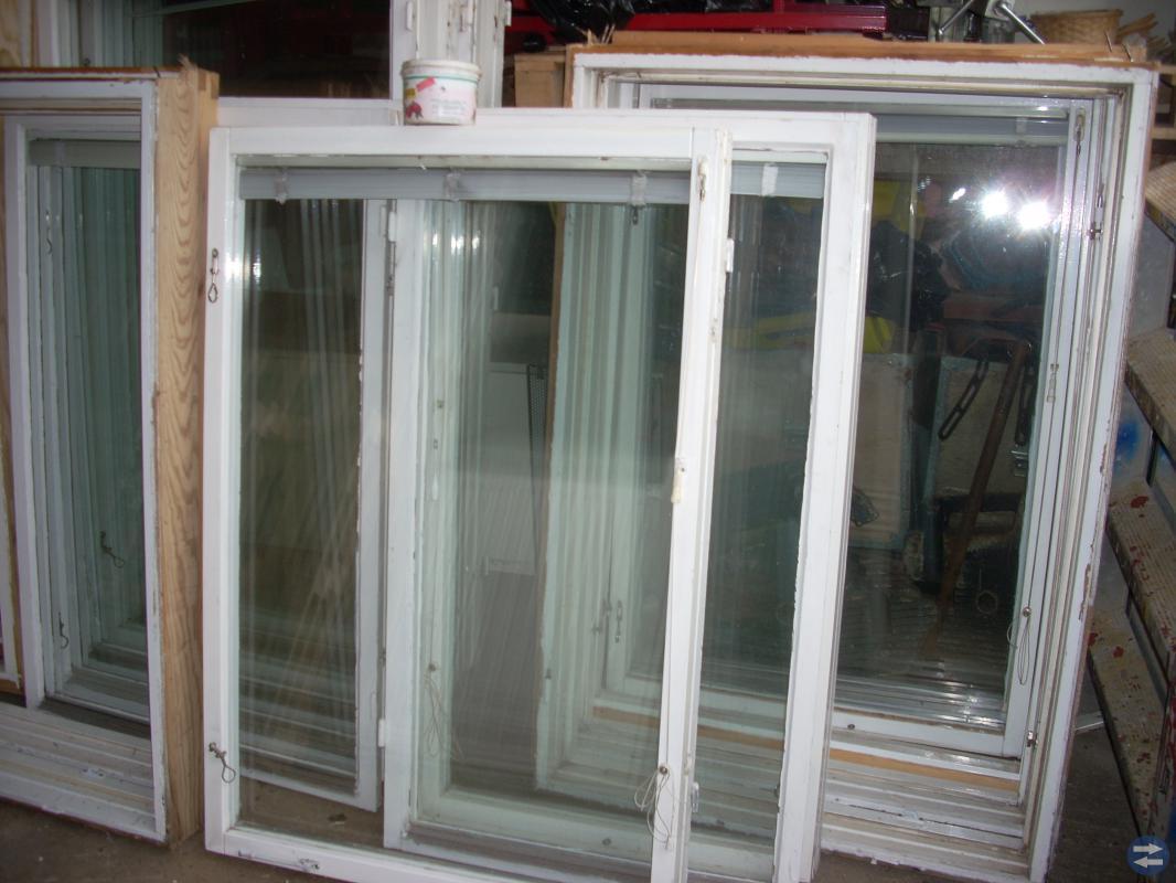 Fönster med karm 11 st