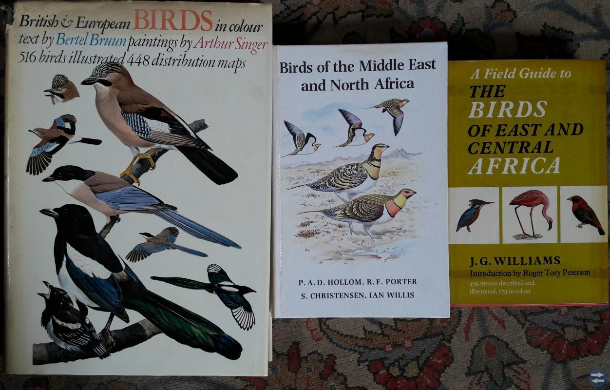 Fågelböcker