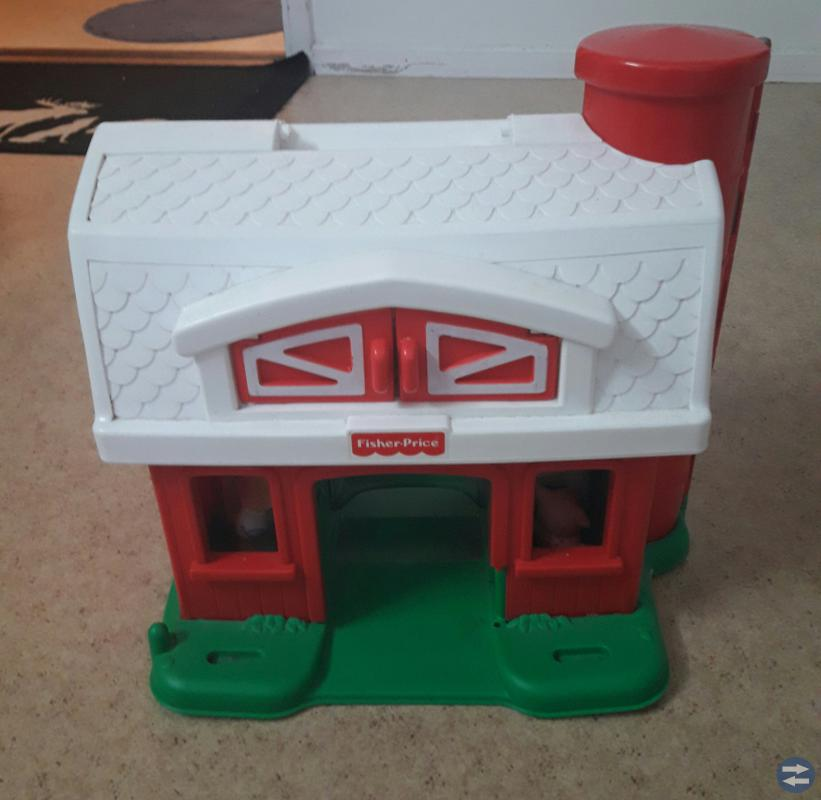Fisher price bondgård.