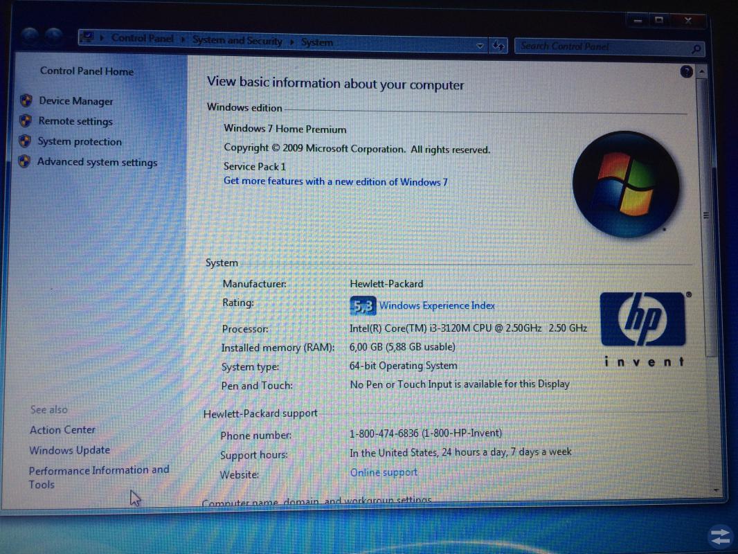 HP ProBook 6470b i3 ram 6 GB hård 320 GB Boynq VAS