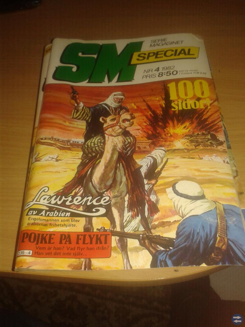 Serietidningar