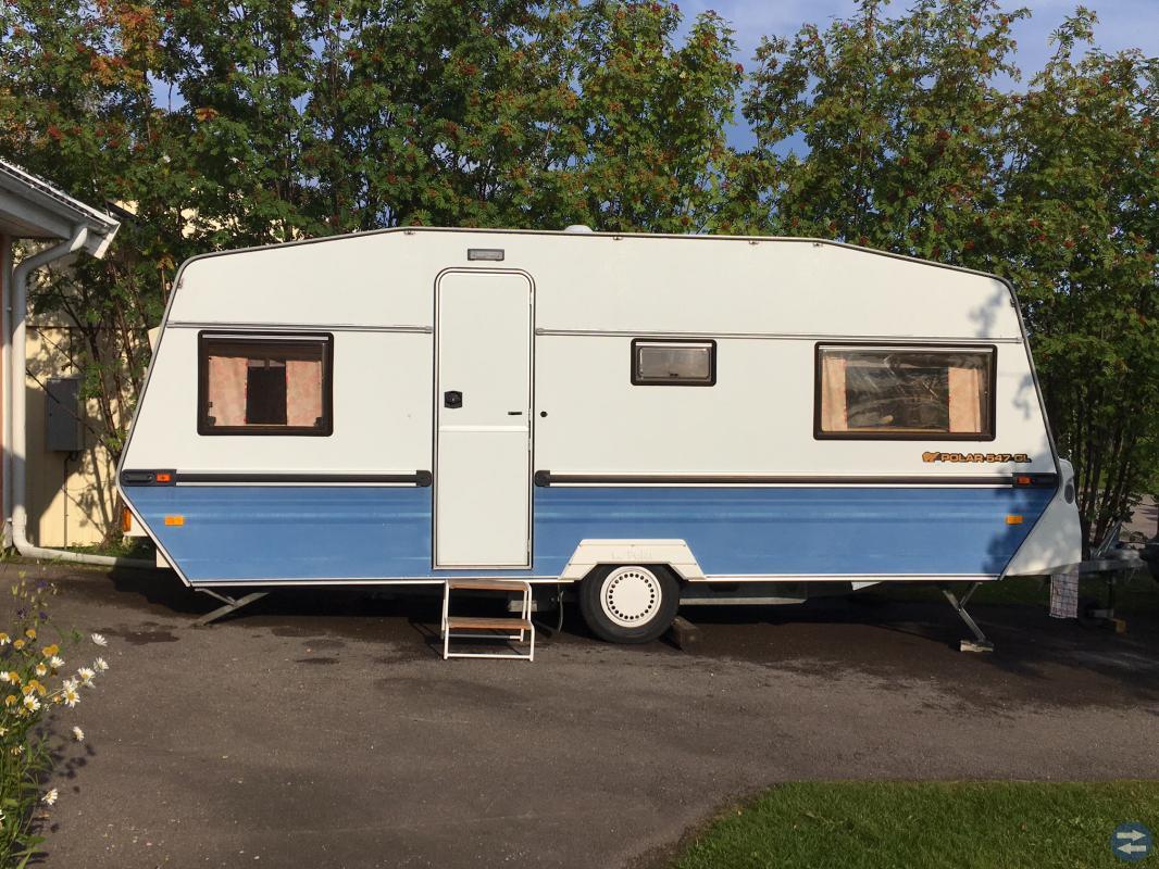 Husvagn Polar 547 GL 1990