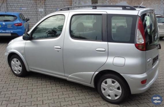 KÖPES: Toyota Yaris Verso 2003 - 2005