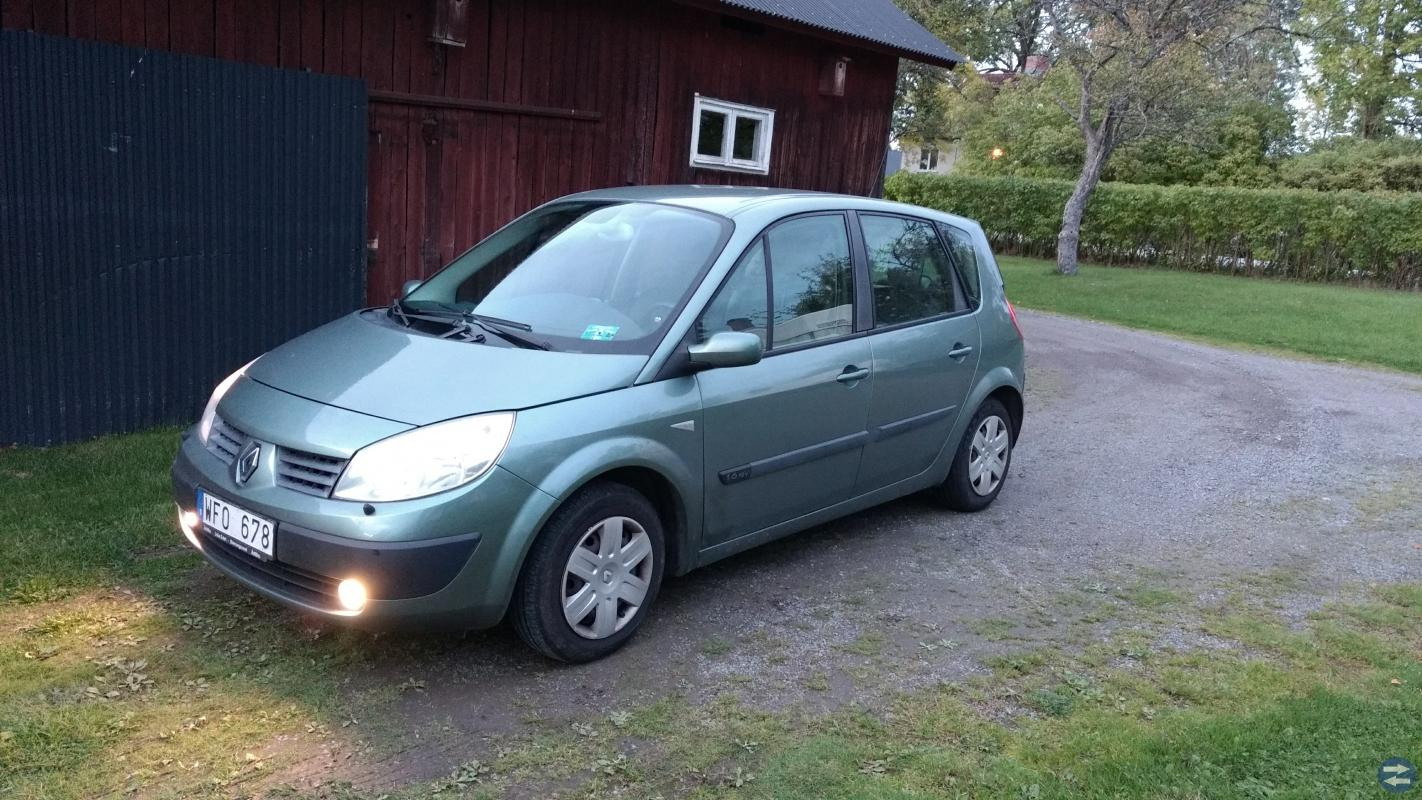 renault scenic 2004 17000mil bengtsforss b sta och st rsta k p s lj. Black Bedroom Furniture Sets. Home Design Ideas