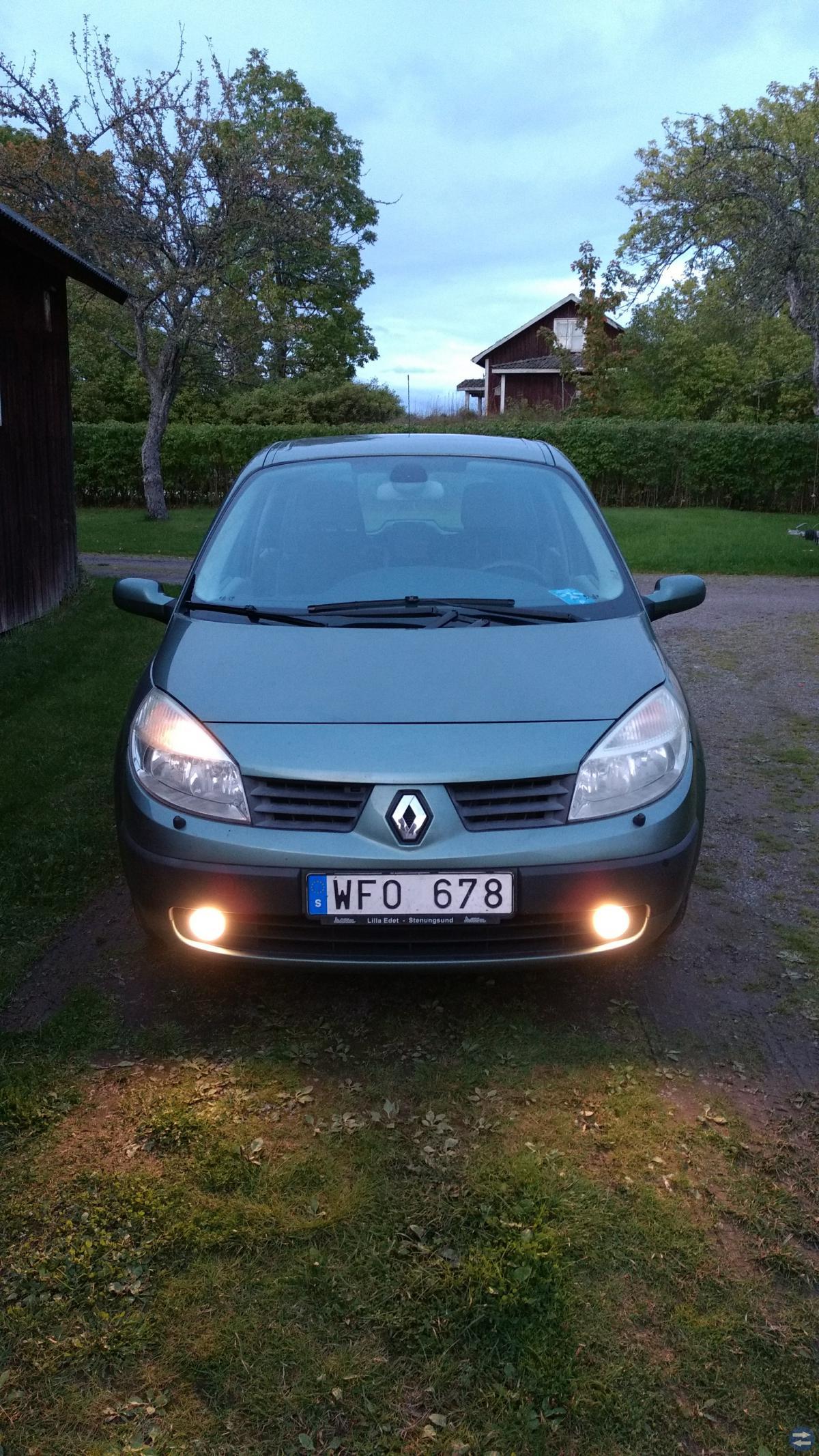 Renault scenic 2004 17000mil