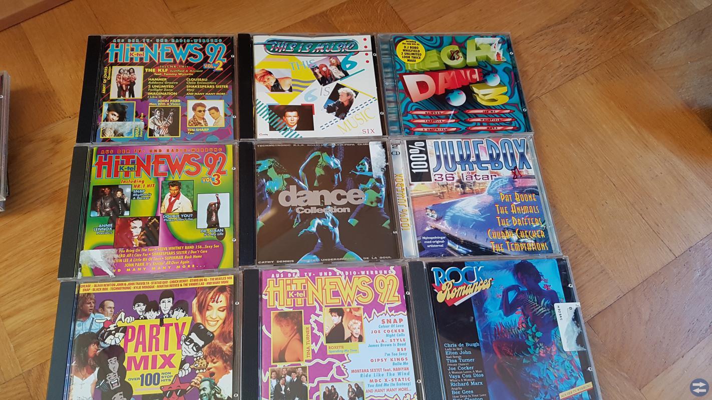 Musik CD Skivor