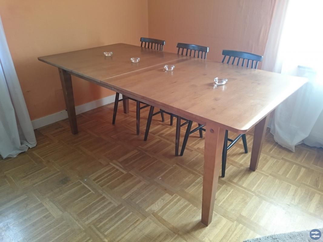 Matbord för många