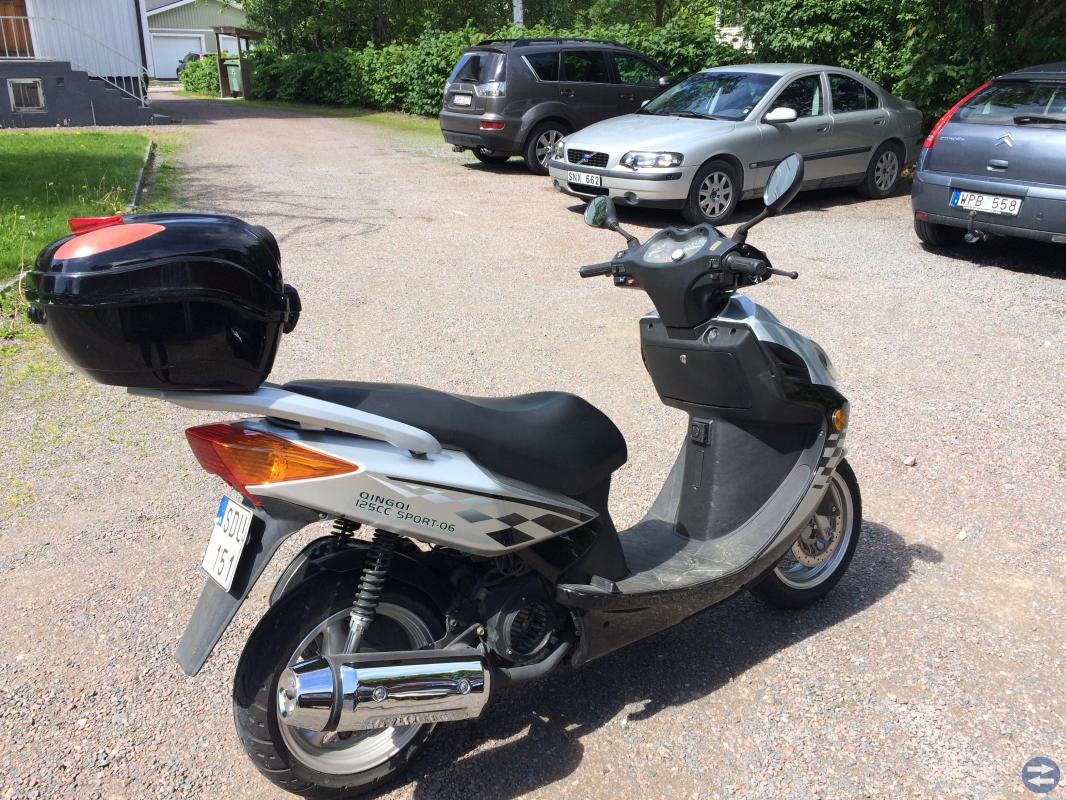 Motorcykel L 3E Qingqi