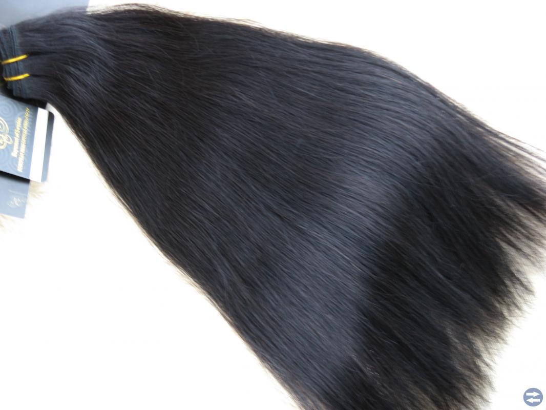 Löshår - Mörkbrun